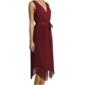 Likely Pleated Gown Dress